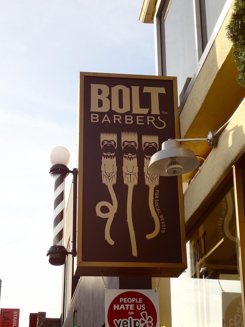 Men's barbershop LA