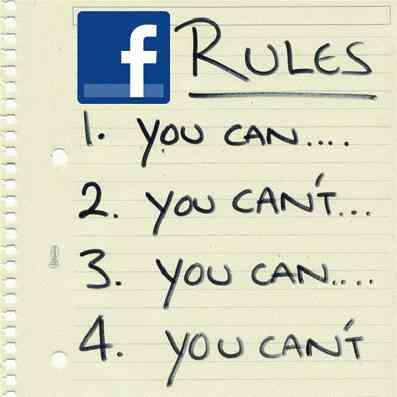 Facebook giveaway guidelines
