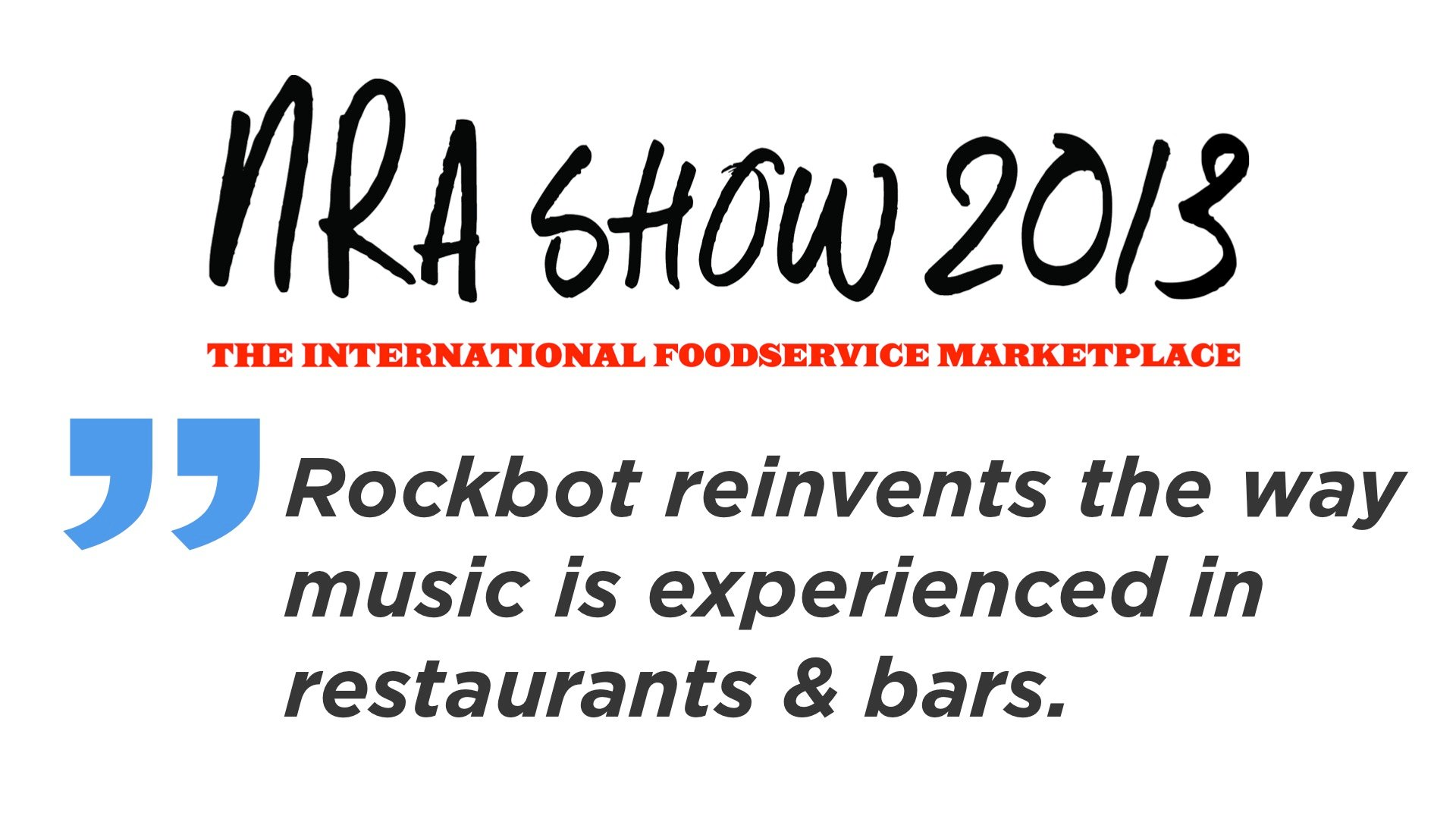 restaurant marketing trends nra show