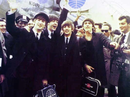 Beatles british invasion music