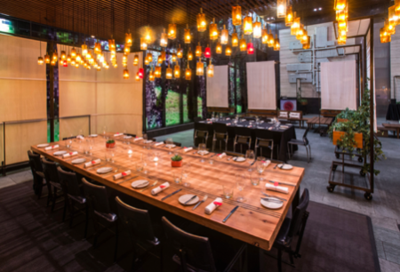 restaurant events customized table