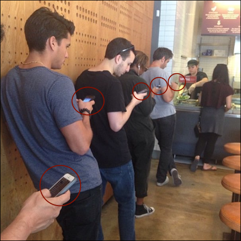 Reducing perceived wait times in fast casual restaurants